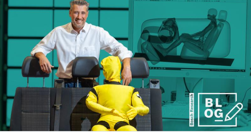 How we create a safe driving experience using human body models